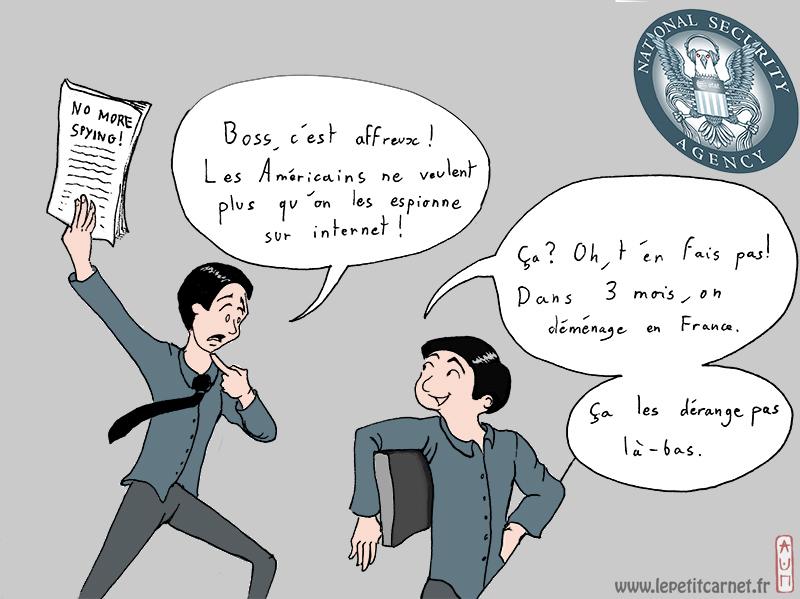 NSA en France