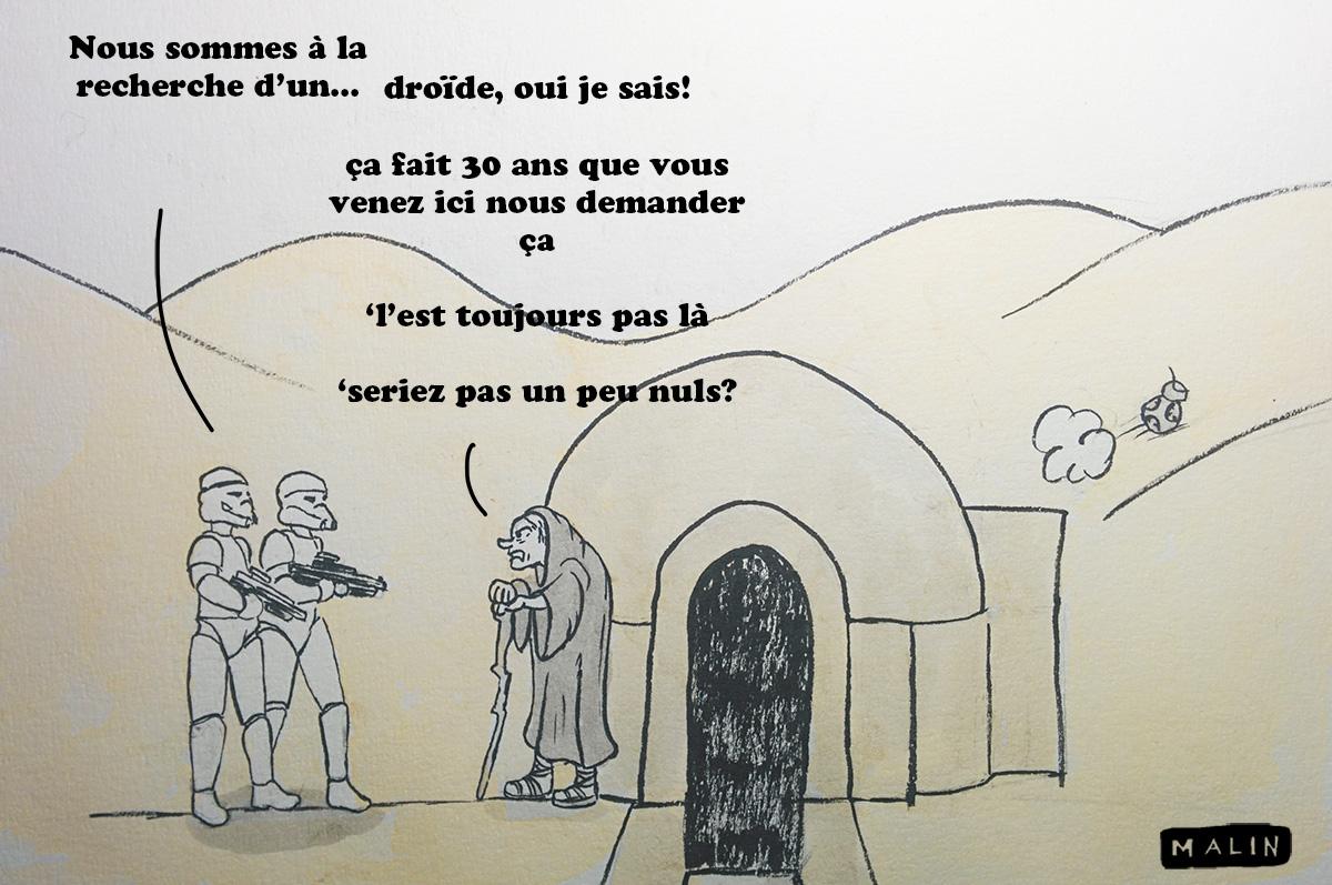 droide recherché