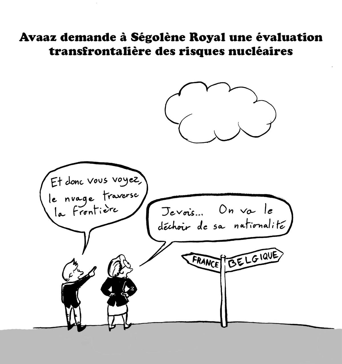 Avaaz Royal nucléaire