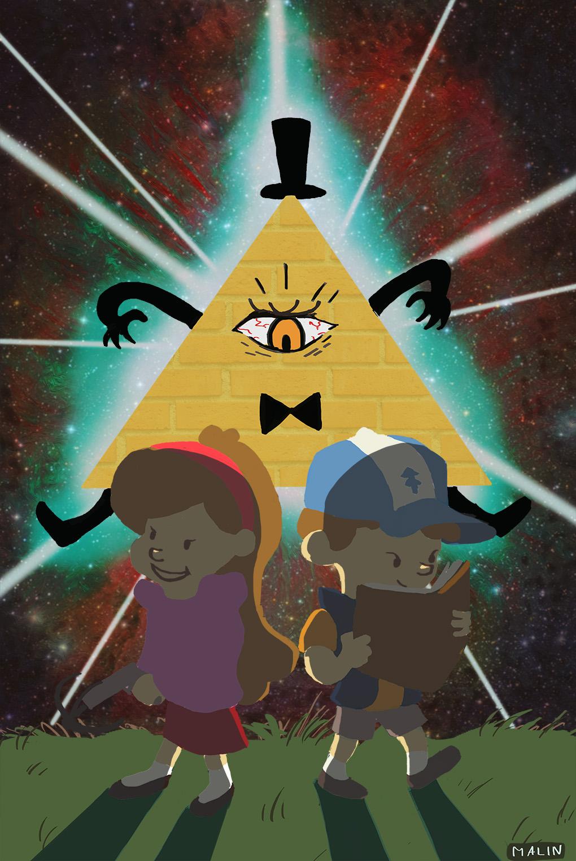 Fan art Gravity Falls final