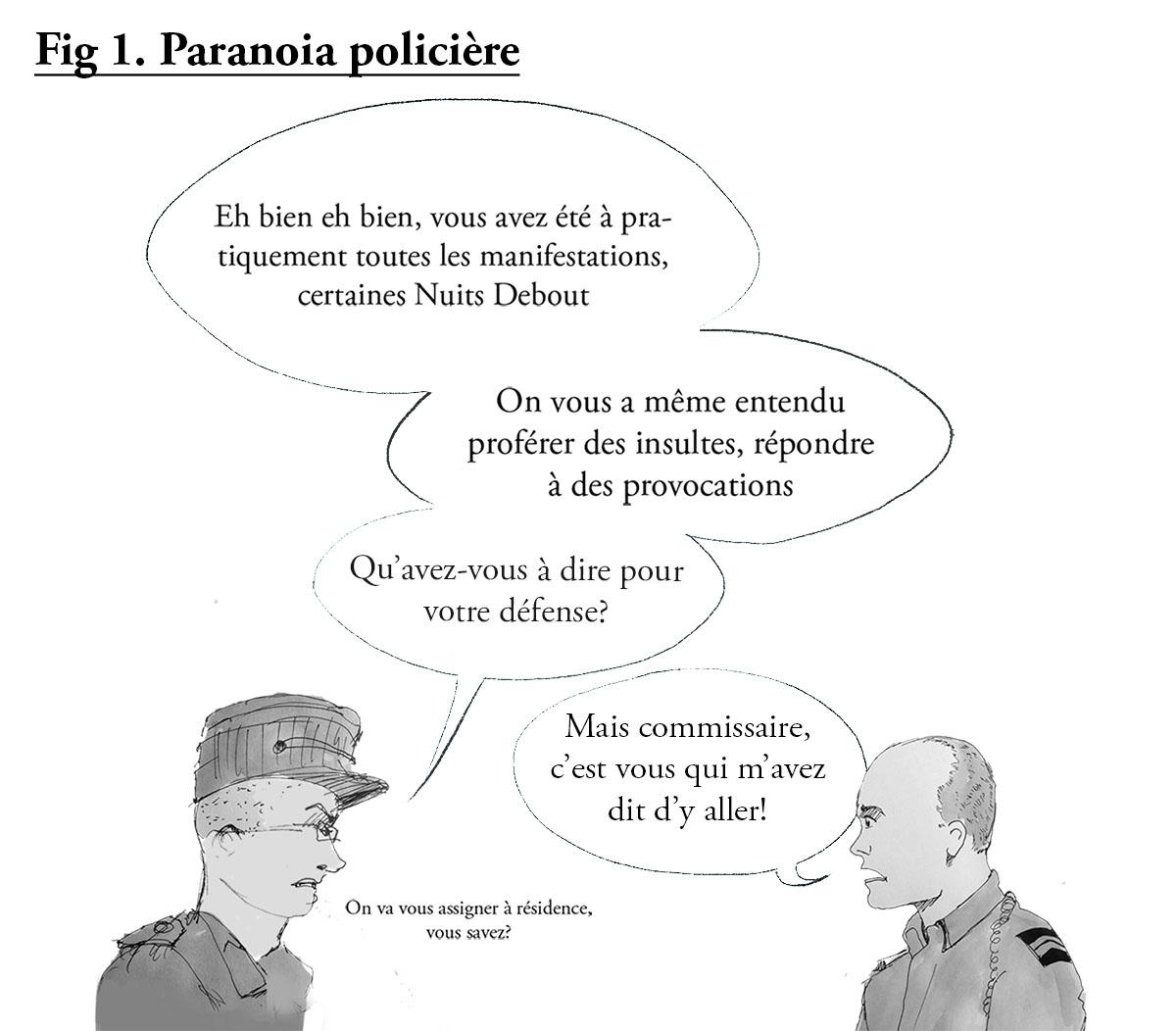 paranoia policière
