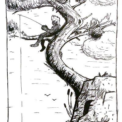 inktober-14-tree