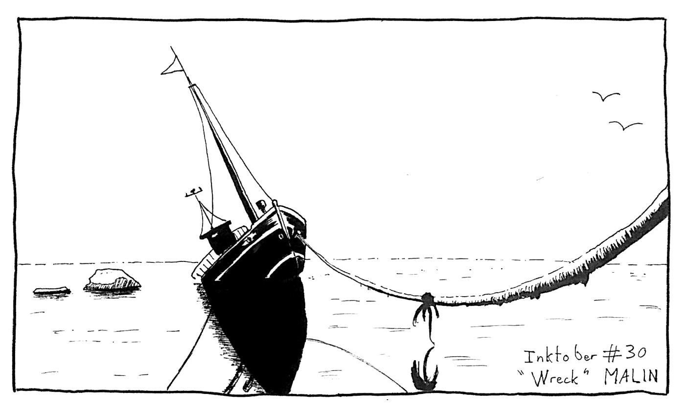 inktober-30-wreck